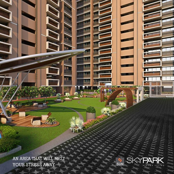A unique and elegant abode with an outdoor green space, Sun Skypark is a serene place to raise your family.   Explore more at goo.gl/sqlwxT  #Sunbuilders #realestate #Skypark