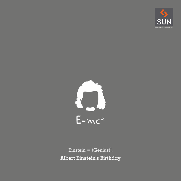 Remembering the legendary scientist, Albert Einstein and his stupendous contribution to science on his birth anniversary.   #Sunbuilders #alberteinstein #theoryofrelativity