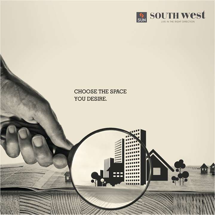 A home, office or a shop - whatever you have on your mind, #SunSouthwest has everything under one roof.   Visit goo.gl/9gpQol for more information.  #Sunbuilders #realestate #southbopal