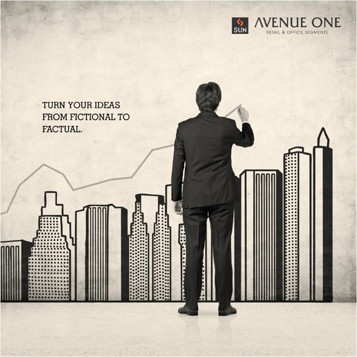 Have a business idea in your mind? Turn it into reality as we have the right space for you.  Inquire the office and retail spaces of Sun AvenueOne at https://goo.gl/rrSpmj #sunbuildersgroup #sunavenueone #commercialspaces