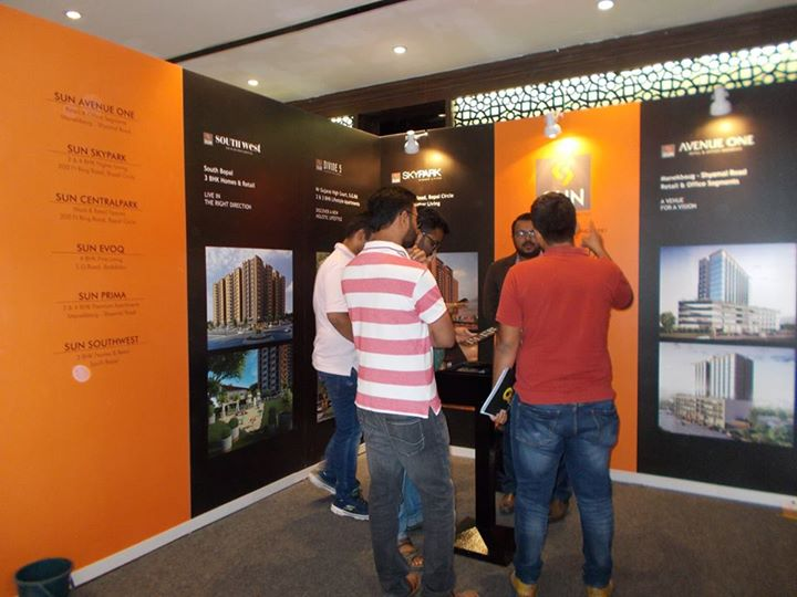 To be a part of the Realty Exhibition - Times Property Expo - 2017, is no less than a blessing, thank you for your amazing response! Here are the glimpses of our stall. Come visit us to know more about our beautiful projects.  #sunbuilders #timespropertyexpo #realestate #property #TGB #ahmedabad