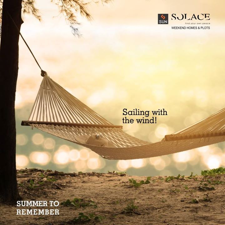 Sand & Sun, Summer has begun! Time for rest and feeling good about your life. Call on 9879523125 to reserve a weekend getaway package at Sun Solace.