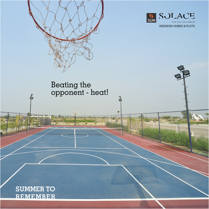Every Summer has its own story! Nothing, not even heat stands between you and your game. Beat the heat at Sun Solace all day long.   Reserve a holiday package, call on 9879523125.  #SunBuilders #SunSolace #SummerToRemember #HelloSummer