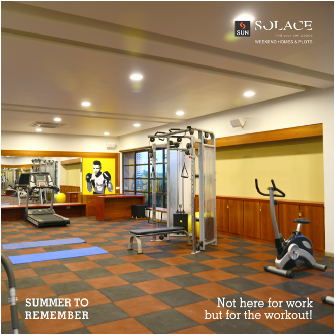 Every Summer has its own story! Sometimes you need to take time out for yourself. Time for your health and passion.   Call on 9879523125 and spend your summer at Sun Solace.  #SunBuilders #SunSolace #SummerToRemember #HelloSummer