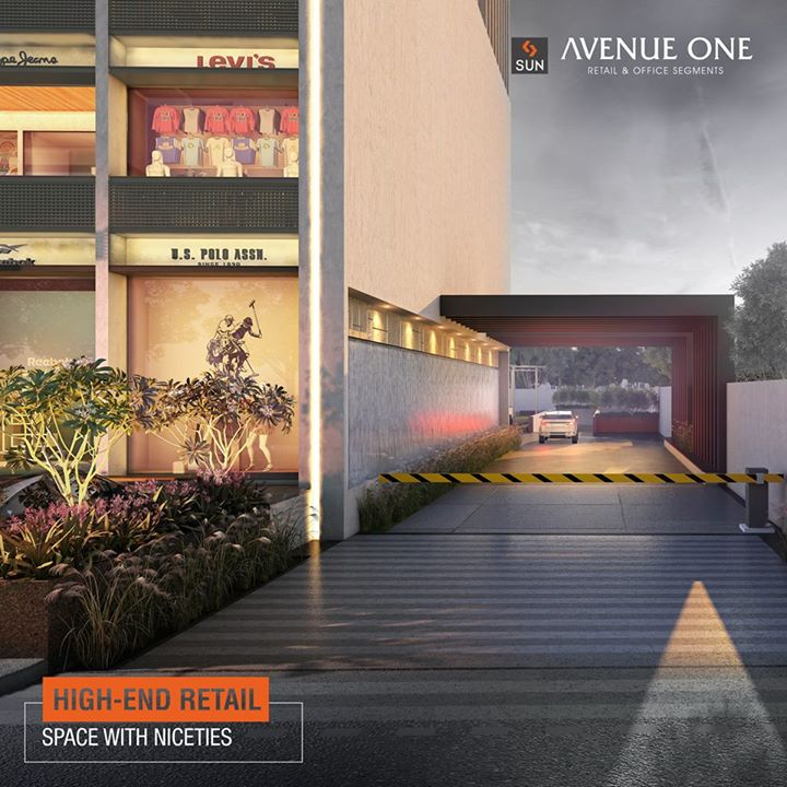Step on the threshold of the business world and enter the corporate life at Avenue One. To know more visit goo.gl/ITQgCz  #AvenueOne #SunBuilders #RealEstate #CommercialSpaces