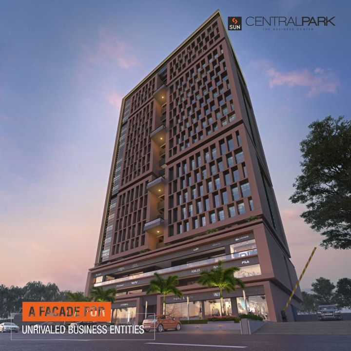 Strategically located in Bopal with stunning architecture, Sun Central Park offers inspiring work spaces and retail configuration for passionate businessmen.     Visit https://goo.gl/jC6TYh to give your business the right address  #SunCentralPark #SunBuilders #RealEstate #Commercial