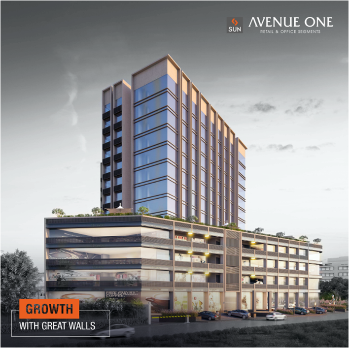 Sun Builders,  AvenueOne, SunBuilders, RealEstate, CommercialSpaces