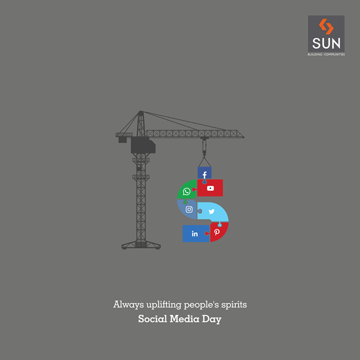 Social Media –from an activity to a valuable investment. #SunBuilders #SocialMediaDay
