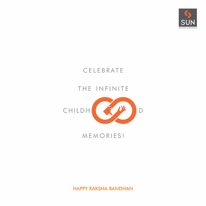 Rakshabandhan is all about celebrating the infinite bond between a brother and a sister that is stronger and purer that any other relationship in the world. Happy Rakhshabandhan! #sunbuilders #rakshabandhan #brother #sister #siblings