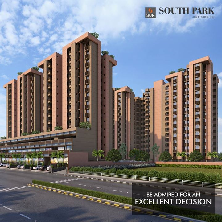 Decisiveness is appreciated and a smart decision is admired. But the satisfaction that you attain from taking a smart decision is euphoric. You'll feel the same after purchasing Sun South Park, located in South Bopal.  Know more: http://bit.ly/2eSK5ER#SunBuilders   #SunSouthPark #realestate #lifestyle #residential