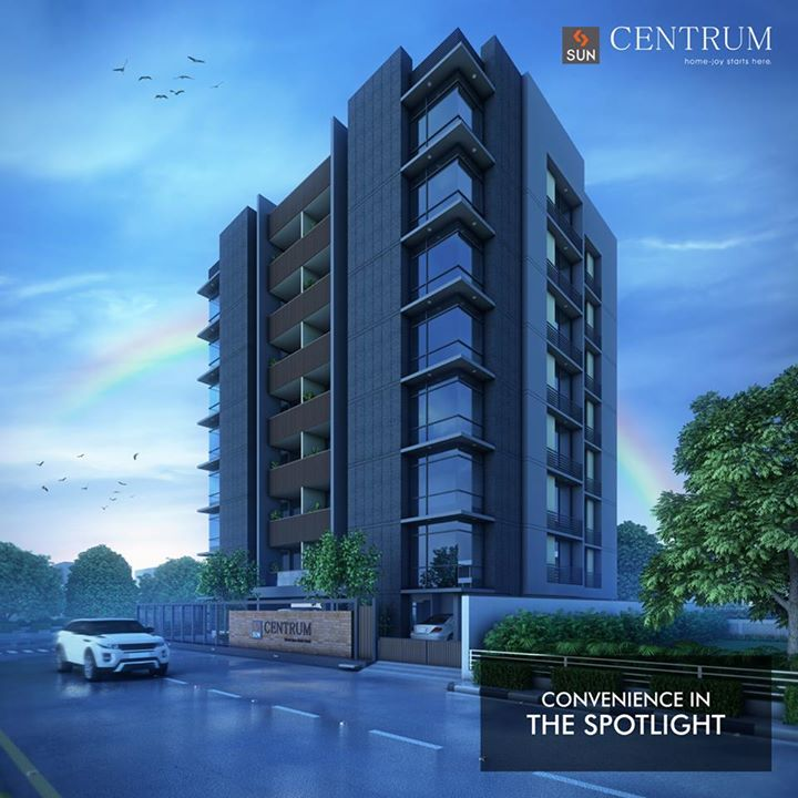 CG Road, Navrangpura holds a property that gives a new meaning to convenience. Sun Centrum offers you the biggest luxury of all and that is.   Know more about the project here: http://bit.ly/2u47yF0 #SunBuilders #RealEstate #Residential #Convenience #SunCentrum