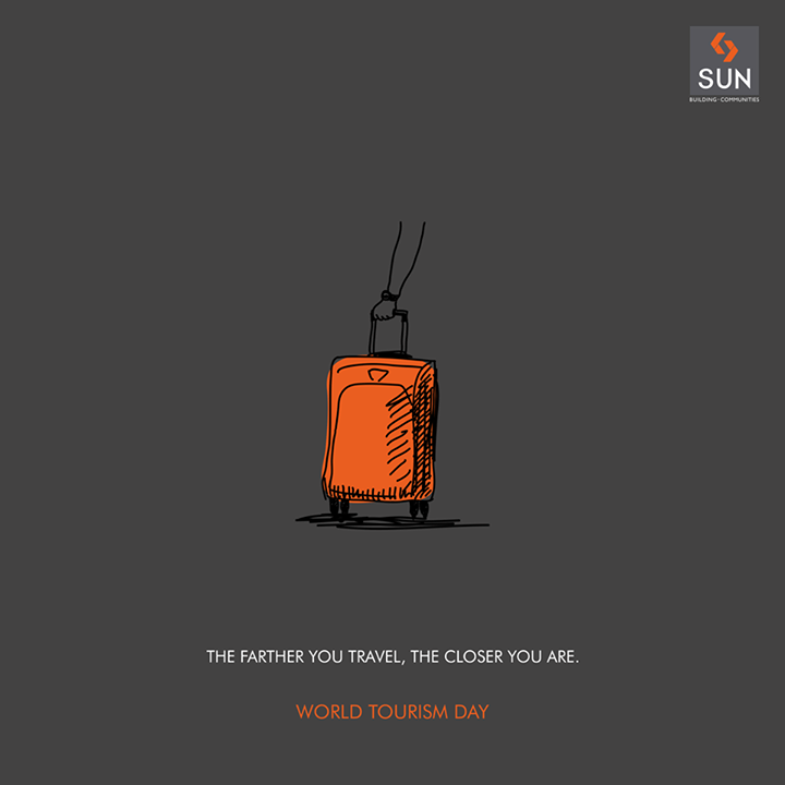The farther you travel in the world the more connected you feel to every being on this planet.   #SunBuilders #TourismDay #Travel #travelgram #Wanderlust #wandering
