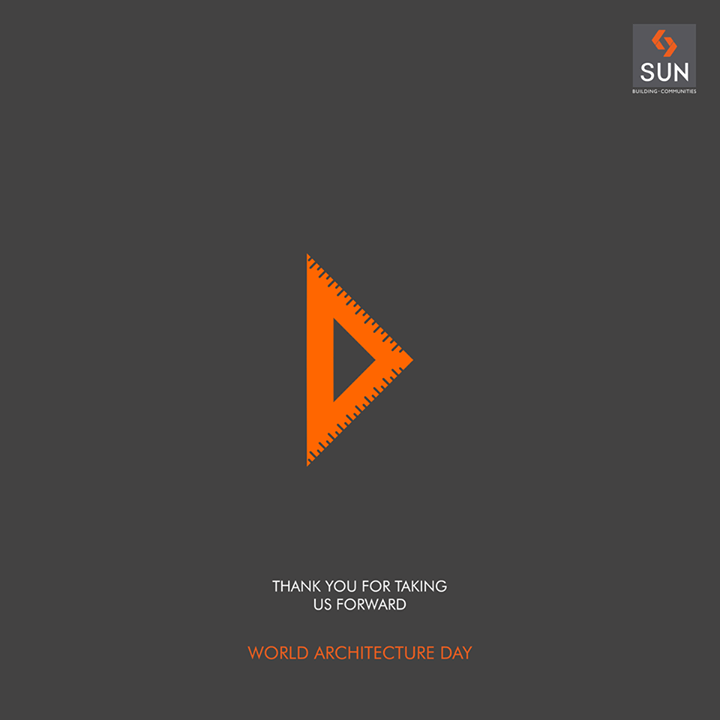 Sun Builders is highly grateful to our architects who have shaped a bright future for this company with their creativity and imagination.  #SunBuilders #WorldArchitectureDay
