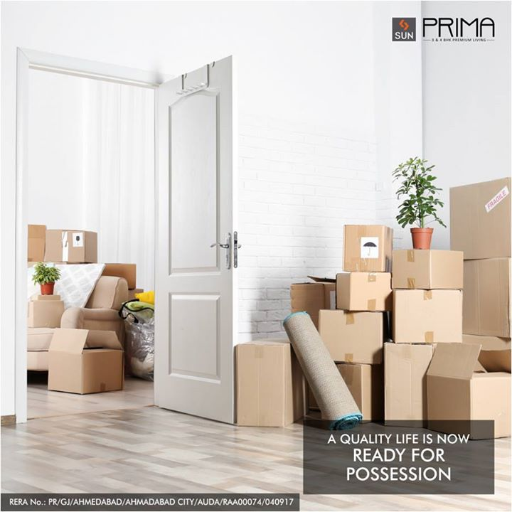 Sun Prima at Manekbaug is planned with an artistic bend to give your eyes a spectacular view and your mind tranquility and joy.  Quality life awaits you here: http://bit.ly/2eTiT8T   #SunBuilders #Residential #Space #QualityLiving #SunPrima