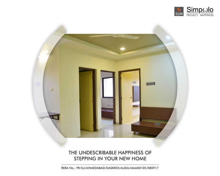 When your home is located in a beautiful and peaceful place with amenities of a modern life, you can't help but be cheerful. Such a beautiful space at Sun Simpolo in Bopal Shilaj Road which is now possession ready.  Explore more amenities: http://bit.ly/2tI1L8M #SunBuilders #SunSimpolo #ProjectHappiness #FirstHome #SmartInvestment #PossessionReady #Amenities