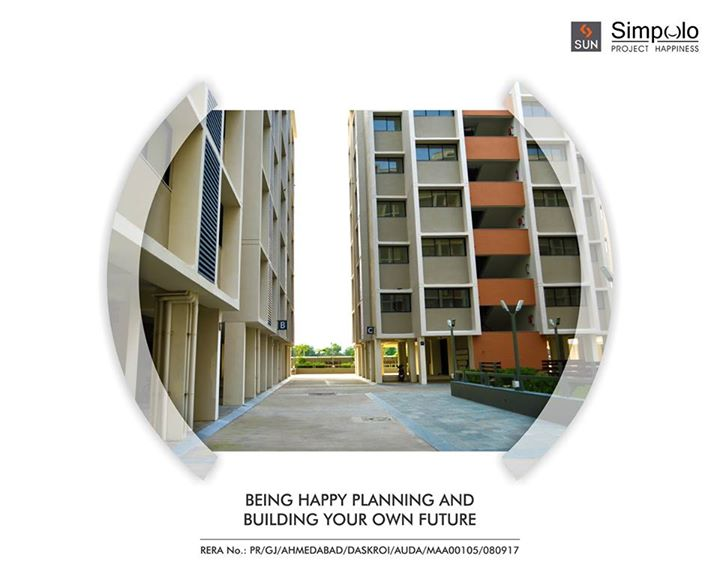 When your passion to give your family their own space is so strong, no one can stop you from achieving it. Dream of owning your own place is now realized with Sun Simpolo at Bopal Shilaj Road which is now possession ready. A smart investment for a lifetime of happiness.  Explore the address of happiness: http://bit.ly/2tI1L8M #SunBuilders #SunSimpolo #ProjectHappiness #FirstHome #SmartInvestment #PossessionReady