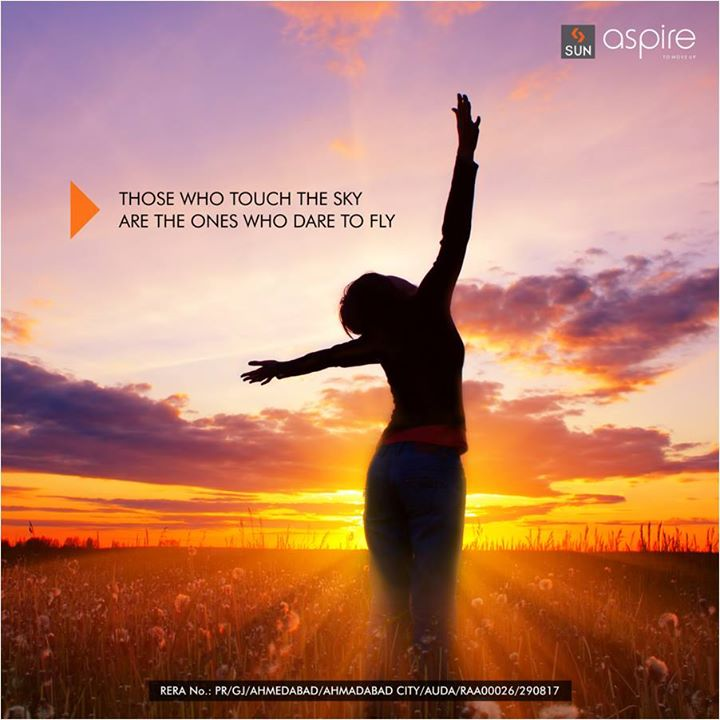 Sun Aspire at Bopal Shilaj road is a home for those who dare to push their limits and have the will to reach new limit.  Find its aspirational features here: http://bit.ly/2tPalXd   #Sunbuilders #RealEstate #SunAspire #Residential #Aspirations