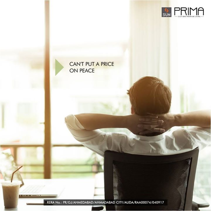 Sun Prima at Manekbaug is the paragon of a peaceful environment, without which no amount of amenities matter.   Discover a true life of quality at: http://bit.ly/2u47yF0 #SunBuilders #Residential #Peace #QualityLiving #SunPrima