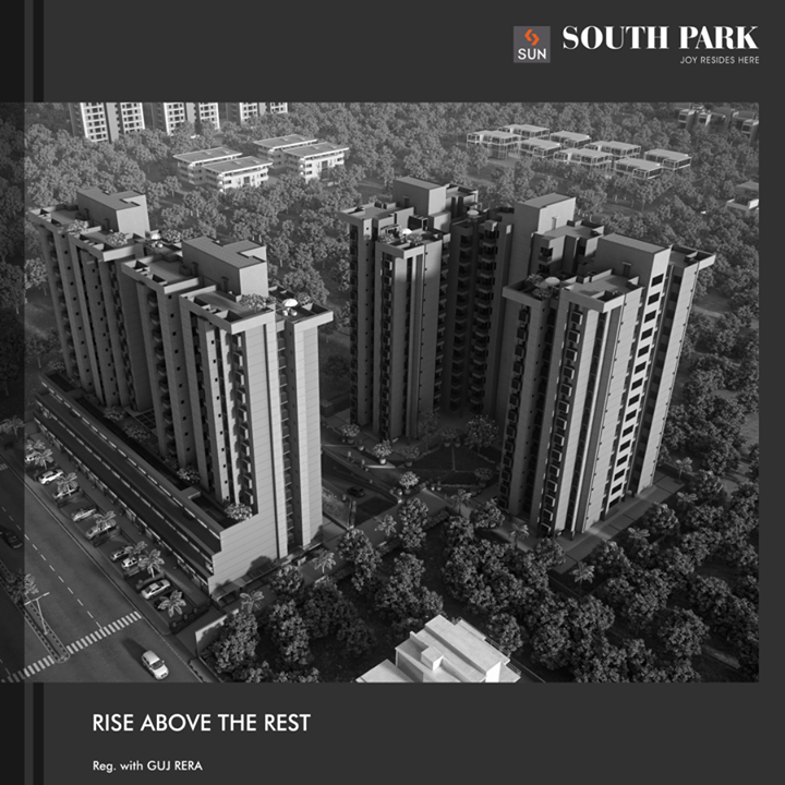 Sun South Park in South Bopal is residential that stands apart from its peers in lifestyle and amenities.  It's close to possession with only a few units left, book now:http://bit.ly/2eSK5ER #SunBuilders #SunSouthPark #realestate #lifestyle #residential