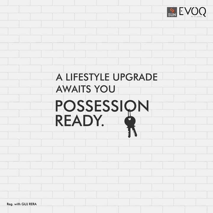 Get ready to upgrade to a life of opulence. Sun Evoq at Bodakdev is now ready for possession. Explore more or book a flat here: http://bit.ly/2vP0L4e  #SunBuilders #SunEvoq #PossessionReady #SmartBuilding #RealEstate #Residential #Luxury