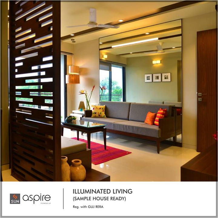 Experience aspirational living in Sun Aspire at Bopal Shilaj road whose sample flat is now ready for you to visit. Come and see the wonder that lies ahead of you and is a reflection of your bright future.  Possession shortly, to explore more visit: http://bit.ly/2tPalXd  #Sunbuilders #RealEstate #SunAspire #Residential #Aspirations