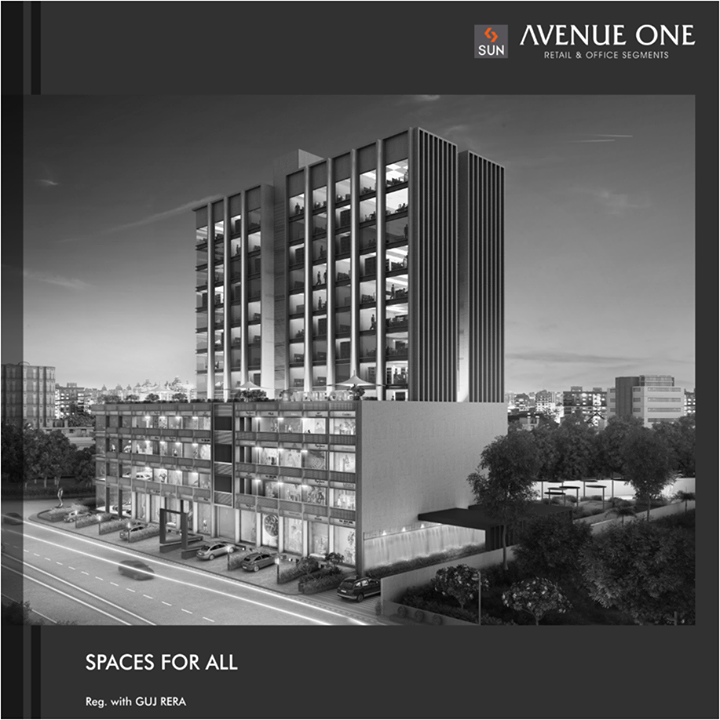 Looking for transformative business space? Sun Avenue One at Manekbaug is commercial space for retail and businesses that caters to all kinds of needs, whatever your business may be.  Find the perfect business location at: http://bit.ly/2tI4nDt  #SunBuilders #Commercial #RealEstate #SunAvenue