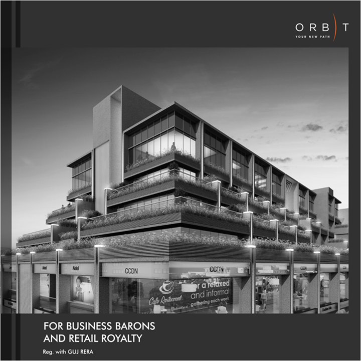 Orbit is a commercial space at Bodakdev for believers and achievers of their business, come own a space where success waits for your approval.  Find reasons of your success here: http://sunbuilders.in/Orbit/ #SunBuilders #Commercial #Orbit #Growth #Success #Retail