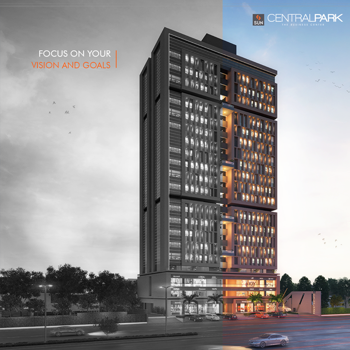 #SunCentralPark offers distinctive retail & work spaces!  #RetailSpaces #Corporates #WorkSpaces #SunBuilders #Retail #Ahmedabad