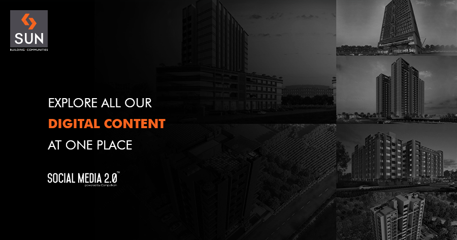 :: A whole new approach ::  #WeAreSocial #SunBuildersGroup #RealEstate #SunBuilders #Ahmedabad #Gujarat