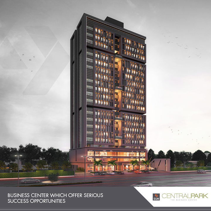 Central Park offers an inspiring, healthy, and fresh environment that's all for innovation, hard work, and serious success opportunities.  #SunCentralPark #SunBuildersGroup #RealEstate #SunBuilders #Ahmedabad #Gujarat