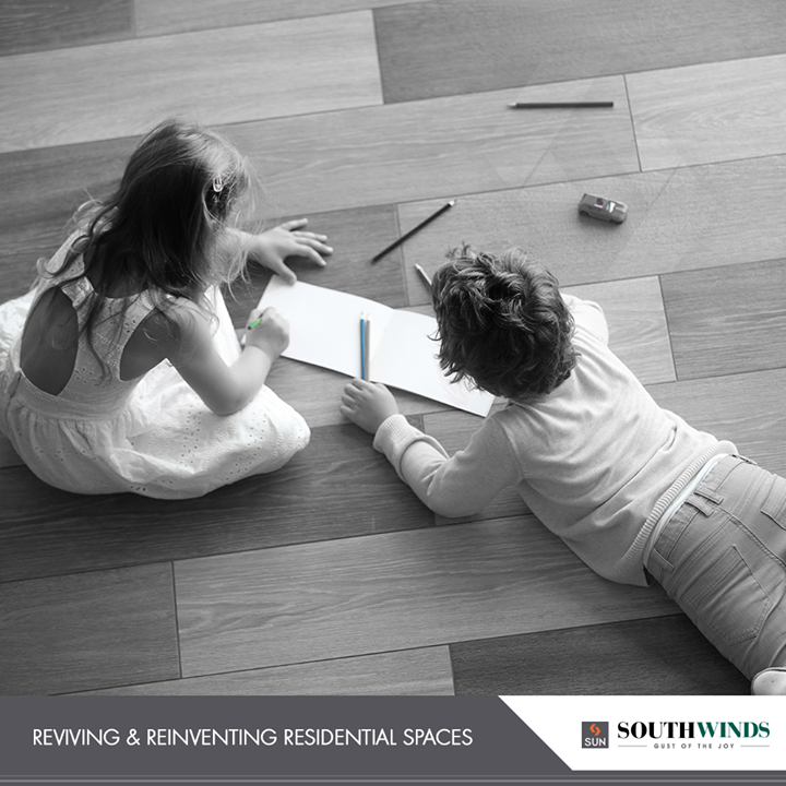 Curating future proof residential spaces for the #happyfamily moments!   #SunBuildersGroup #RealEstate #SunBuilders #Ahmedabad #Gujarat #SouthWinds