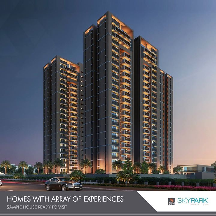 Homes that could be your best escape!    #SkyPark #SunBuildersGroup #RealEstate #SunBuilders #Ahmedabad #Gujarat