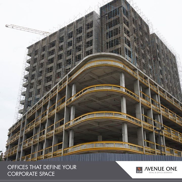 #AvenueOne best defines the office spaces of the next generation with apt location & amenities!  #SunBuildersGroup #RealEstate #SunBuilders #Ahmedabad #Gujarat