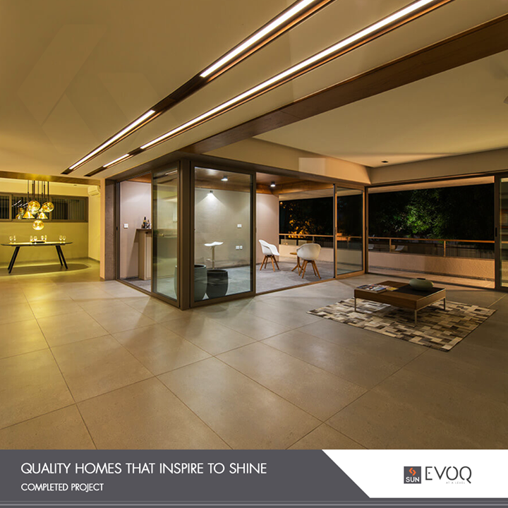 Luxurious homes committed & delivered on time!   #Evoq #SunBuildersGroup #RealEstate #SunBuilders #Ahmedabad #Gujarat