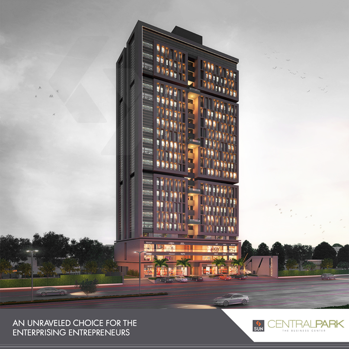 An impeccable location & the pride of a great address, #CentralPark is the retail hub you've always awaited!   #SunBuildersGroup #RealEstate #SunBuilders #Ahmedabad #Gujarat