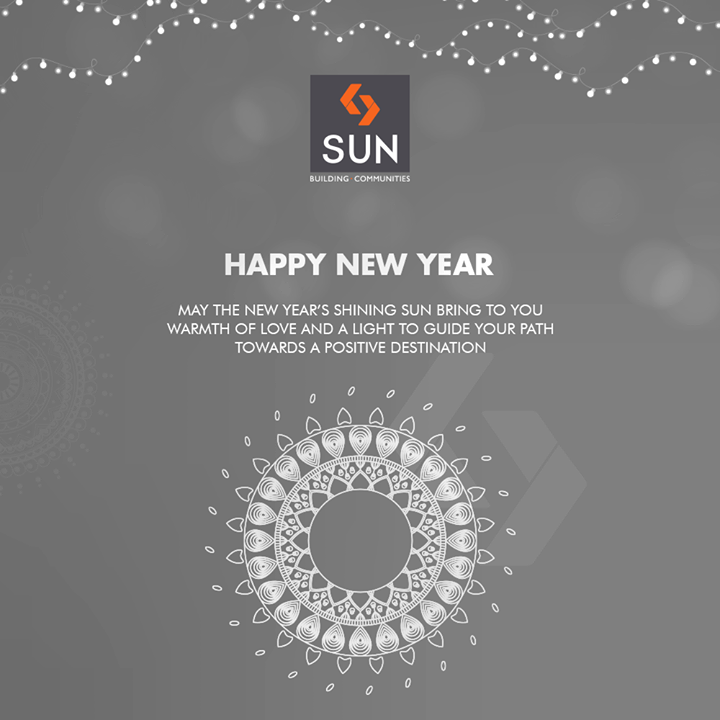 May the New Year's shining Sun bring to you warmth of love and a light to guide your path towards a positive destination  #NewYear #HappyNewYear #IndianFestivals #Celebration #Diwali2018 #SaalMubarak #FestivalOfLight #FestivalOfJoy #FestiveSeason #SunBuildersGroup #RealEstate #SunBuilders #Ahmedabad #Gujarat