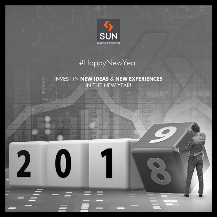 Invest in new ideas & new experiences in the new year!  #SunBuildersGroup #RealEstate #NewProject #Gujarat #Ahmedabad