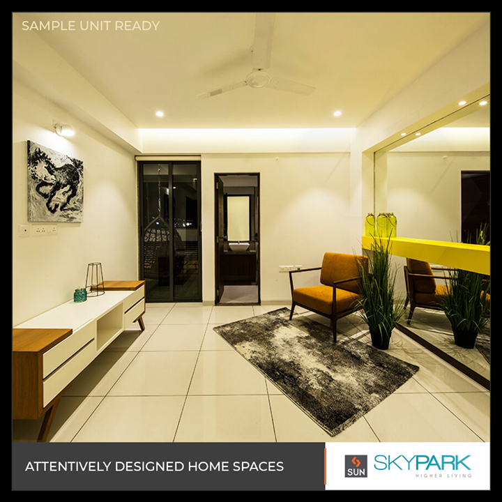 Live the grand spacious life you've always imagined!  #SunSkyPark #SkyPark #SunBuildersGroup #SunBuilders #RealEstate #Ahmedabad #RealEstateGujarat #Gujarat