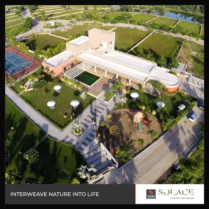 Find your peace, interweave life with serenity!   #SunBuildersGroup #RealEstate #Gujarat #Ahmedabad #SunSolace