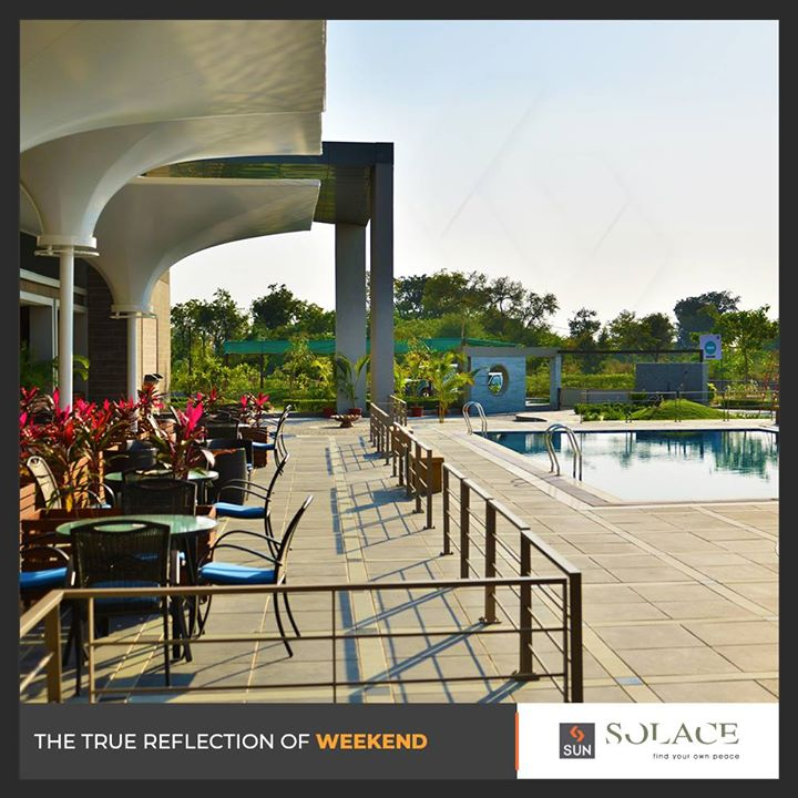 Amenities that rival all expectations of a #weekendhome!  #SunBuilders #RealEstate #Ahmedabad #RealEstateGujarat #Gujarat #SunSolace