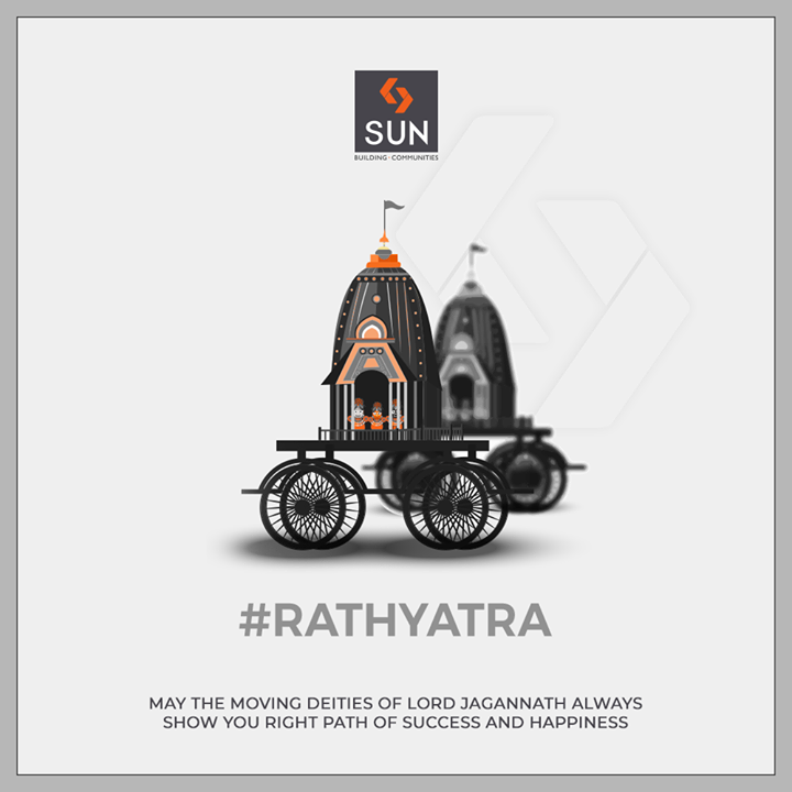 May you be blessed & shown the right path of success & happiness!   #SunBuildersGroup #Ahmedabad #Gujarat #LordJagannath #JaiJagannath #RathYatra2019 #Amdavad #WorldHeritageCity #IncredibleIndia #MarathonOfTheWalledCity #FestivalOfChariots #Spirituality