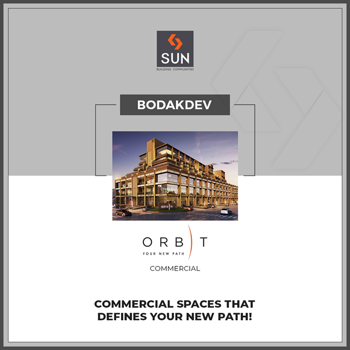 #QuantumOfSun | #Bodakdev promises to offer great connectivity & hence becomes a great location to invest in your commercial spaces!  #SunBuildersGroup #Ahmedabad #Gujarat
