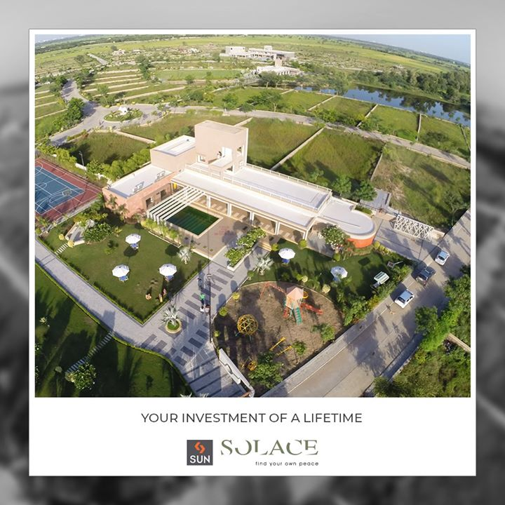 #SunSolace provides you a lifestyle entrapped in luxury! An ideal investment for your #weekendhome!   #SunBuildersGroup #Ahmedabad #Gujarat
