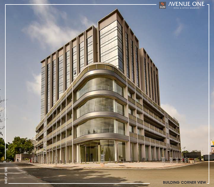 Well Planned and Brilliantly located Workspaces that yield growth with great results!  Here is a glimpse of our new creation #SunAvenueOne standing tall in  Ahmedabad's City Skyline.   We extend our gratitude to each one of you who have been a part of this journey towards making Sun Avenue One a successful project!  #SunBuildersGroup #Ahmedabad #Gujarat #RealEstate #ProjectCompleted #CompletedProject