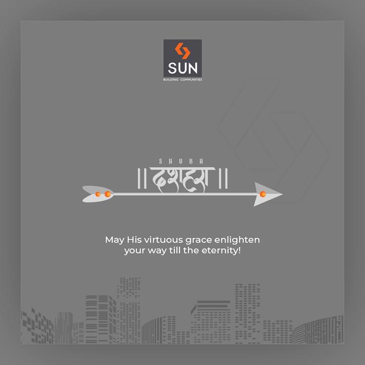 Sun Builders,  HappyDussehra, Dussehra, Dussehra2019, Vijayadashami, Festival, SunBuildersGroup, Ahmedabad, Gujarat, RealEstate, SunBuilders