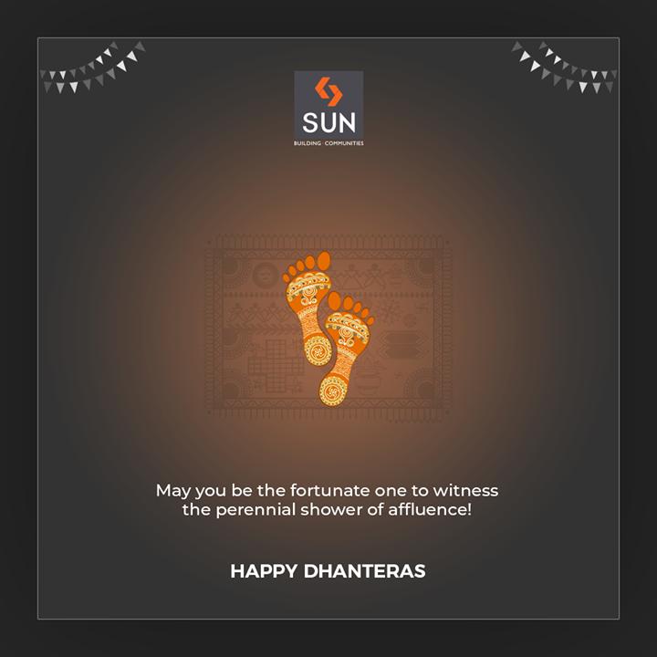 Sun Builders,  Dhanteras, Dhanteras2019, ShubhDhanteras, IndianFestivals, DiwaliIsHere, Celebration, HappyDhanteras, FestiveSeason, Diwali2019, SunBuildersGroup, Ahmedabad, Gujarat