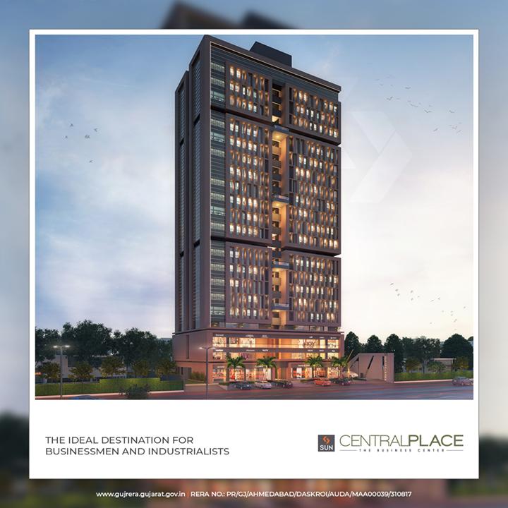Sun Builders,  SunCentralPlace, SunBuildersGroup, Ahmedabad, Gujarat, RealEstate