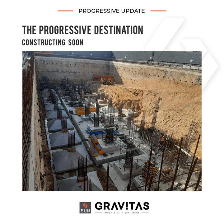 An energizing and progressive environment in Constructing phase   #ConstructionUpdate #SunGravitas #SunBuildersGroup #Ahmedabad #Gujarat #RealEstate