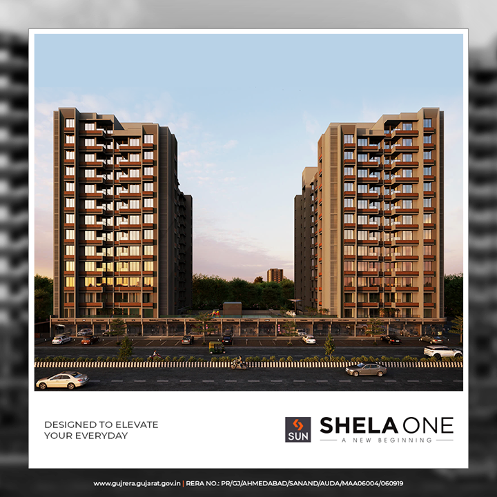 SUN SHELA ONE is destined to set new standards in affordable living  #ShelaOne #SunBuildersGroup #SunBuilders #RealEstate #Ahmedabad #RealEstateGujarat #Gujarat