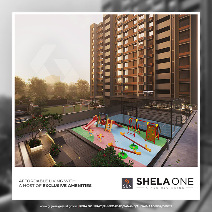 Well planned & designed aesthetically, you can rest assured of creating the best memories.   #ShelaOne #SunBuildersGroup #SunBuilders #RealEstate #Ahmedabad #RealEstateGujarat #Gujarat